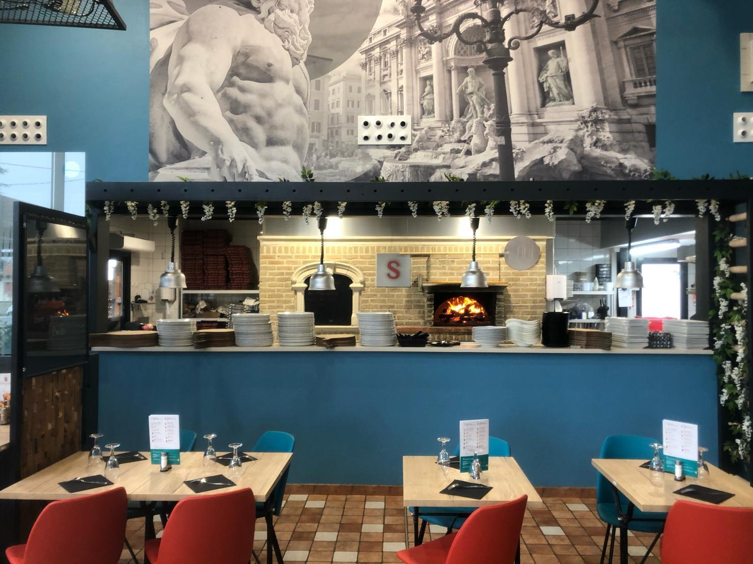 Rénovation de la pizzeria Signorizza à Bergerac, des travaux réalisés en seulement 5 jours par l'entreprise de peinture Marcillac et fils