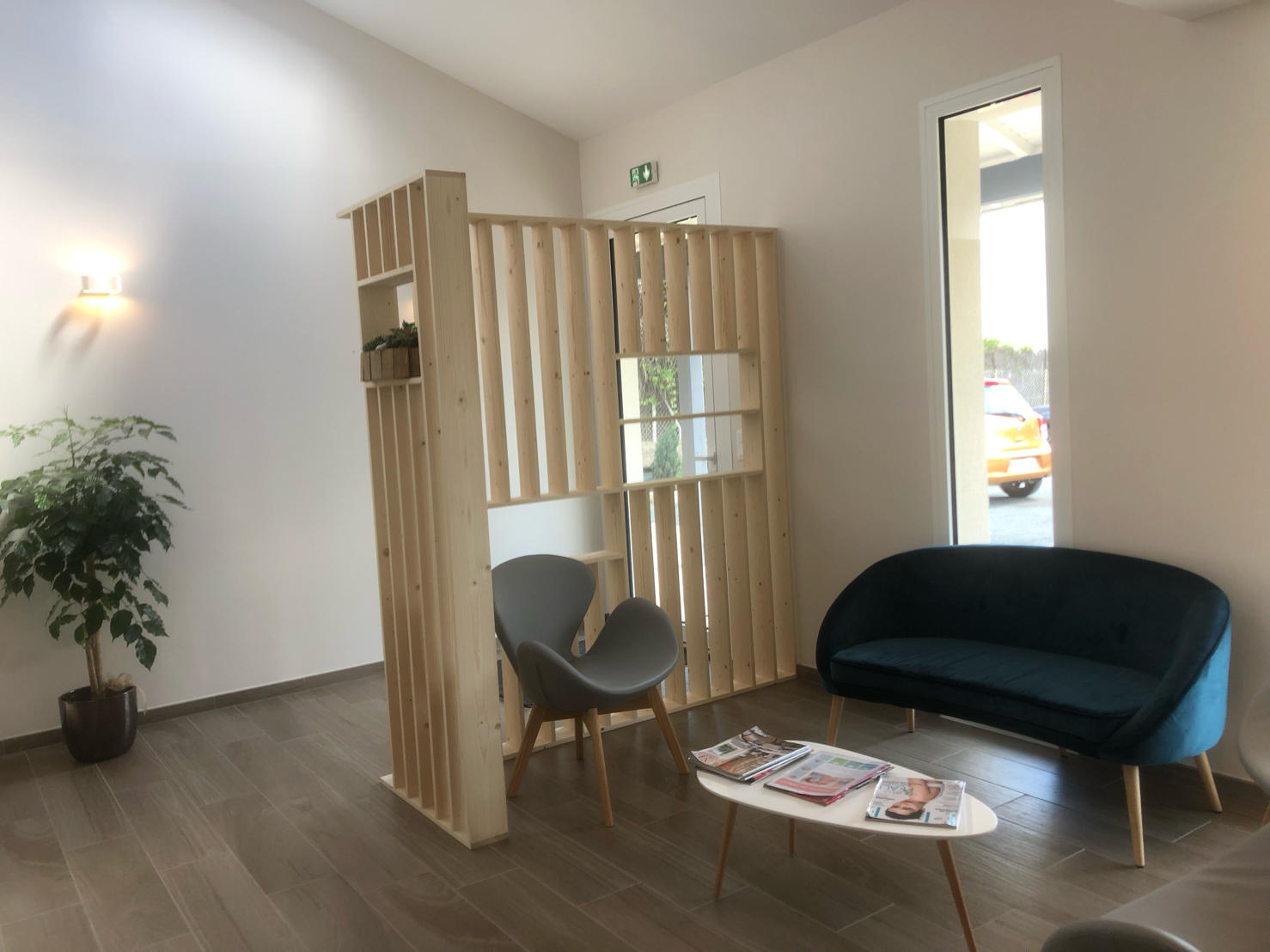 Rénovation d'un cabinet médial en Dordogne par l'entreprise de peinture Marcillac et fils